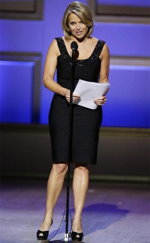 """Katie Couric """"I think you have to adhere to your standards and still make people feel valued."""""""