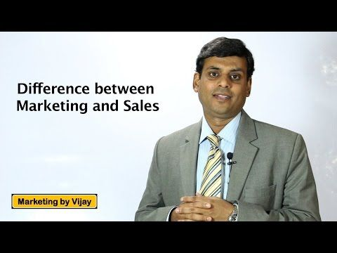3. Difference between Marketing and Sales - Marketing Lecture by Prof. Vijay Prakash Anand. #IBPSPO, #IIM, #MarketingInterest, #MarketingManagementJobTitle, #MarketingSpecialistOfficer, #Marketingwxy, #ProbationaryOfficer, #SalesIndustry, #SalesAndDistribution, #SellingLiteratureSubject, #VideoLecture, #VijayPrakashAnand #InternetMarketingVideos     Here's Your Opportunity To CLONE My Entire Internet Business System Today: Click Here! In this video, I have talked about