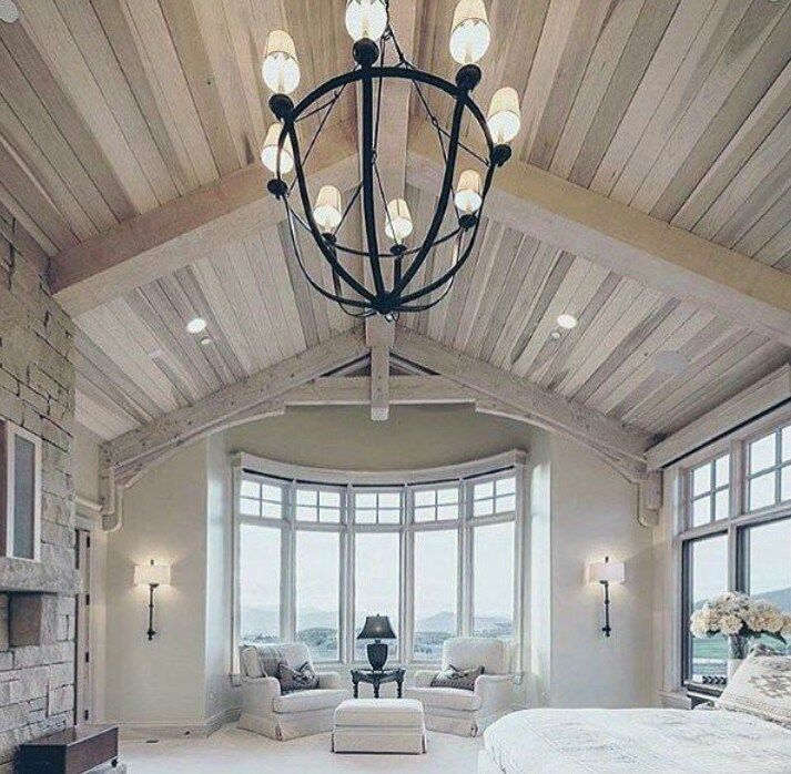 50 Vaulted Ceiling Image Ideas Make Room Spacious Vaulted Ceiling Bedroom Vaulted Ceiling Living Room Cathedral Ceiling Living Room