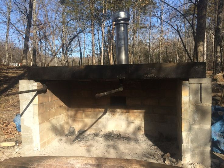 Building a cinder block maple syrup cooker/evaporator for homemade maple syrup!  From Such and Such Farm