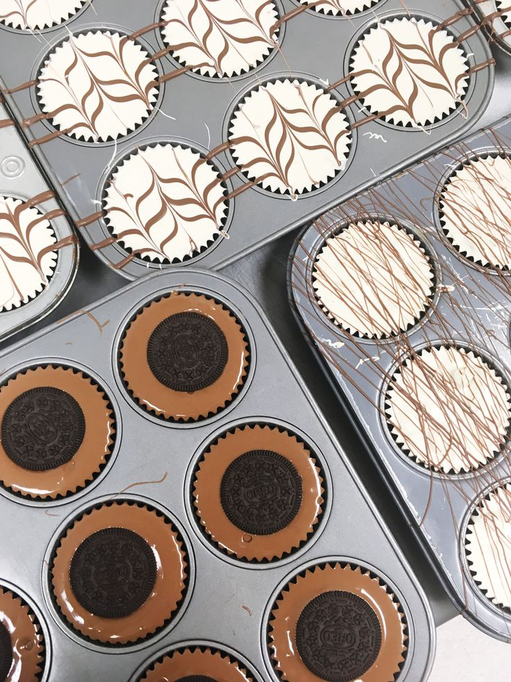 A beautiful sight: peanut butter cups with all different tastes and designs (We'll take two of each...)!