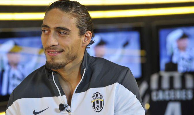 Juventus, Caceres ospite alla trasmissione Filo Diretto di JTV