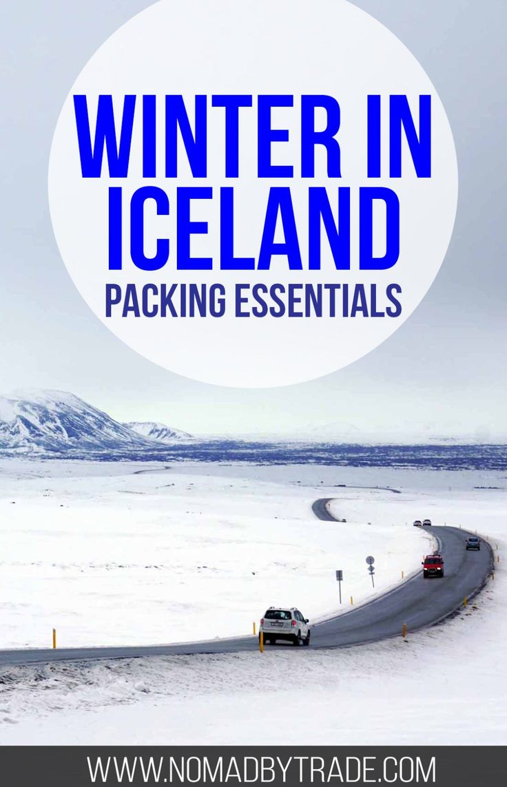 This packing list for winter in Iceland will prepare you for weather and more.