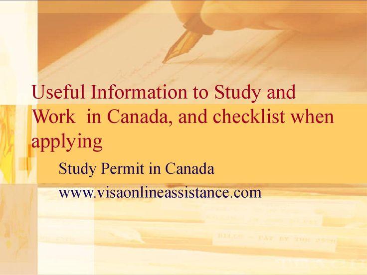 49 best Visa Online Assistance images on Pinterest Destinations - canadavisa resume builder