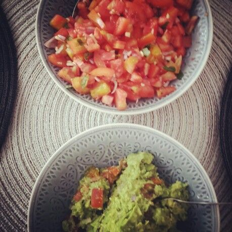 Guacamole & Tomato Salsa