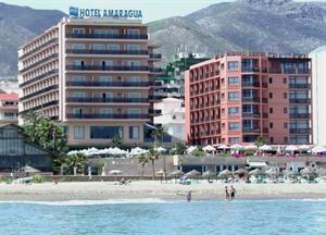 Spanje Costa Del Sol Torremolinos  Hotel Amaragua ligt in Torremolinos pal aan het strand van de oude visserswijk La Carihuela. Dit is de ultieme bestemming voor een ontspannen vakantie want het hotel heeft alles in huis om het u...  EUR 267.00  Meer informatie  #vakantie http://vakantienaar.eu - http://facebook.com/vakantienaar.eu - https://start.me/p/VRobeo/vakantie-pagina