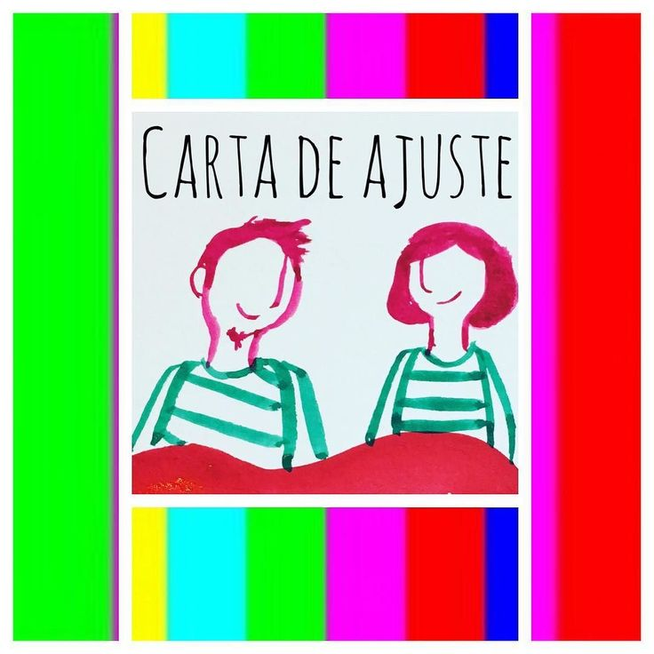 Hoy en modo Carta de Ajuste. Pronto volverán las viñetas. /Today Test card mode. We'll be back soon ##couple #ilustracion #100dayproject #gouache #comic #viñetas #illustration #pareja #lovers #juntosyrevueltos #historieta #webcomic #100daysofmotivationforillustration #illustrationoftheday #drawing #juntos #instart #picsart