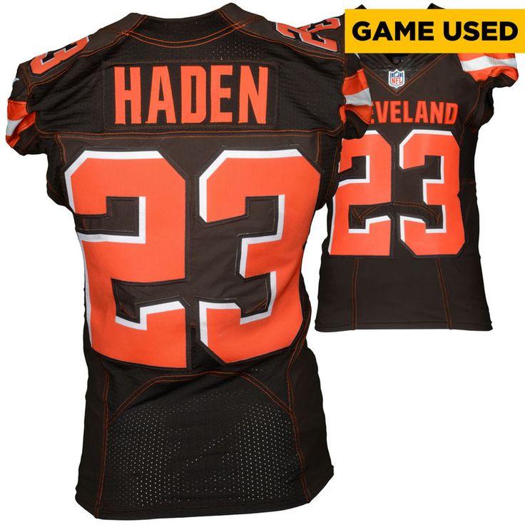 Top Cleveland Browns 23 haden Orange 2015 Nike elite Jersey  for sale