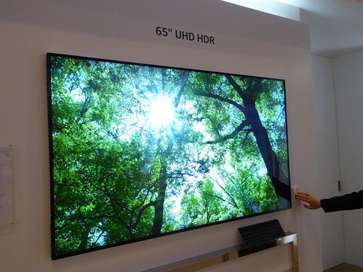 LG Display 65-inch HDR LCD Using a new structure known as M+ that incorporates a white subpixel, LG says it also improves brightness on this HDR LCD.