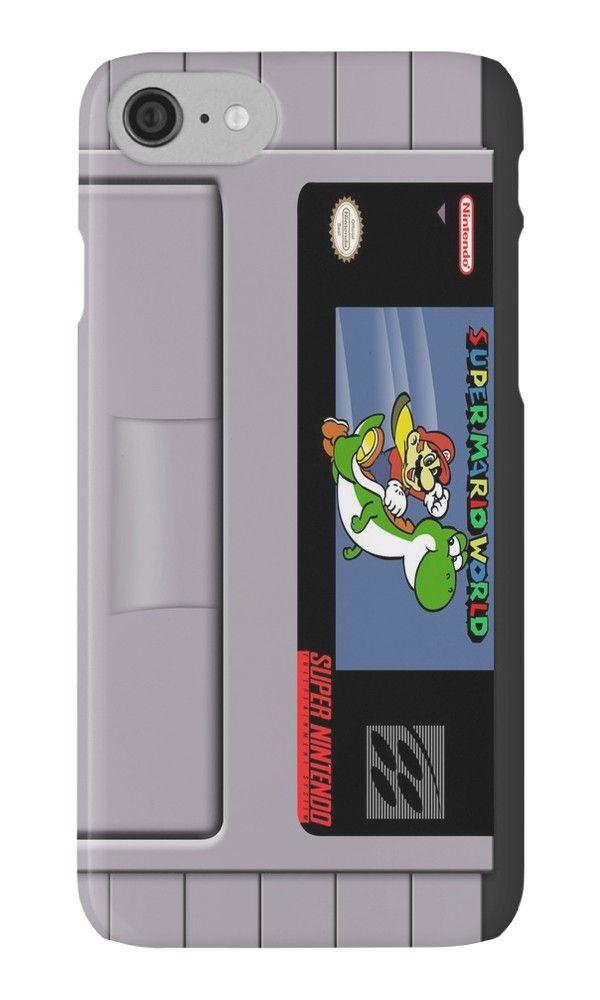 «Super Mario World Cartridge Iphone Case» de LumpyHippo