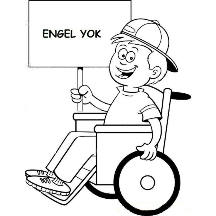 """İsteyenler için """"ENGEL YOK"""" kalıbı #serapogretmen #serapogretmen_etkinlikleri"""
