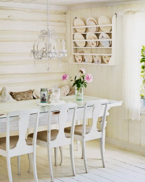 Die besten 25+ Shabby chic dinning room Ideen auf Pinterest - franzosischen stil interieur ideen