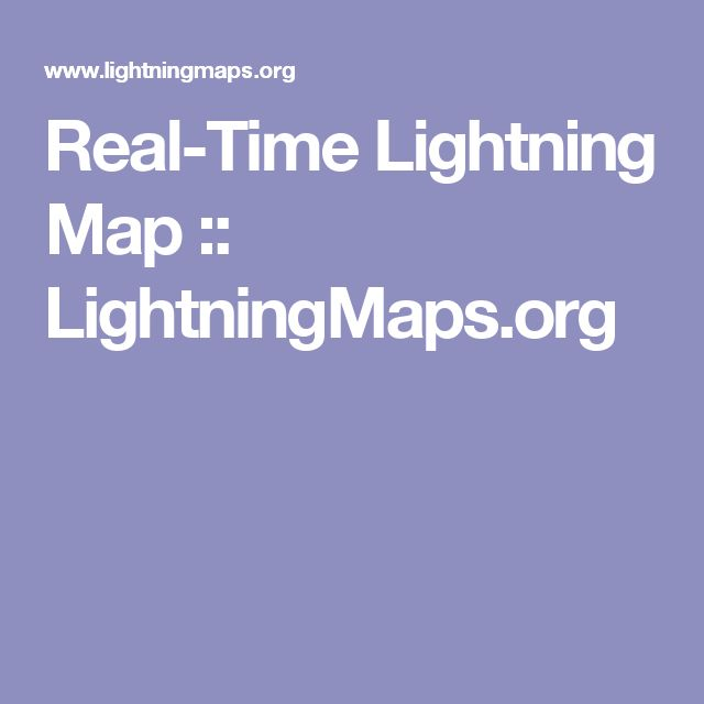 Real-Time Lightning Map :: LightningMaps.org Lightning is one of the major contributors to noise that disrupts Amateur Radio transmissions. I'm thinking this map might be helpful in pinpointing problem areas.