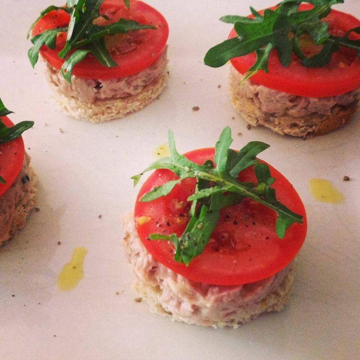 Patê de atum c/ tomate