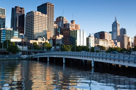 "Melbourne was the most ""liveable"" city according to the EIU in August 2011"