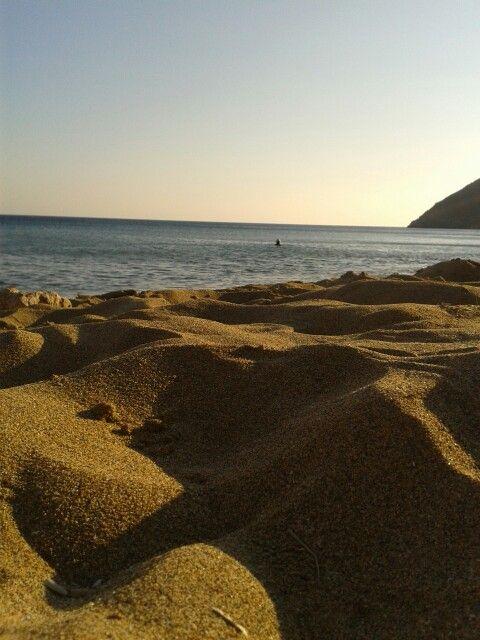 Anafi-Agioi Anargyroi beach