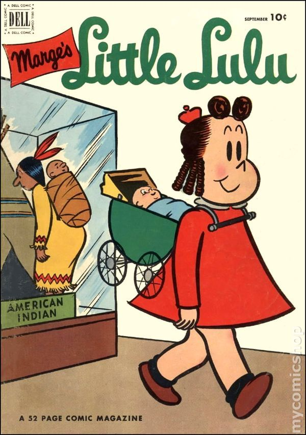 Little Lulu #51  Published September 1952 by Dell/Gold Key.