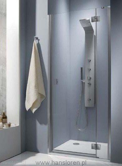 Essenza DWJ Radaway drzwi wnękowe 990-1010x1950 przejrzyste prawe - 32722-01-01NR  http://www.hansloren.pl/Kabiny-prysznicowe/Drzwi-szklane-do-wneki/RADAWAY