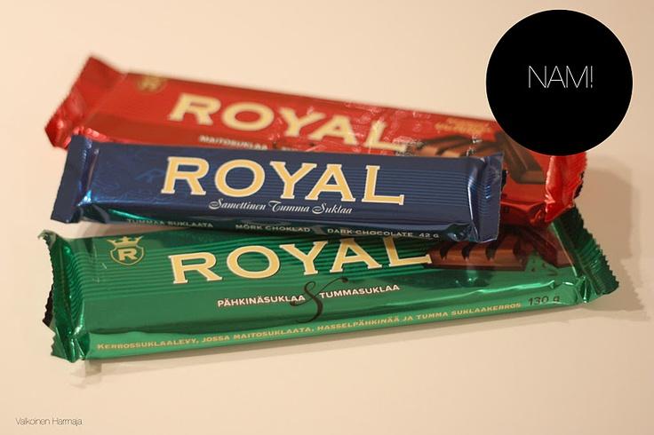 ROYAL chocolate