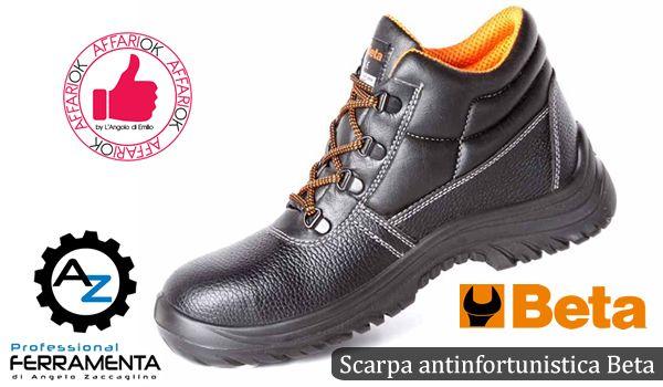 Scarpa Antinfortunistica Beta Da Ferramenta AZ http://affariok.blogspot.it/2015/10/scarpa-antinfortunistica-beta-da.html