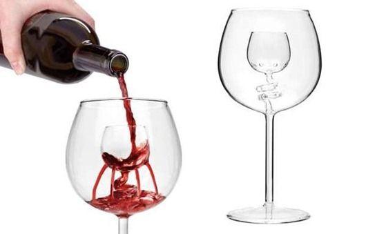 30 of the Most Creative Unique  Ridiculous Wine Glasses.  (23)