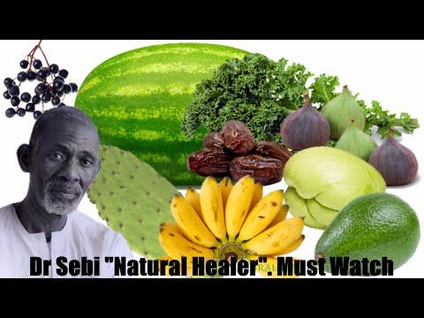 Dr Sebi Diet & Top 10 Healthy Alkaline organic food list, black men , black women - YouTube