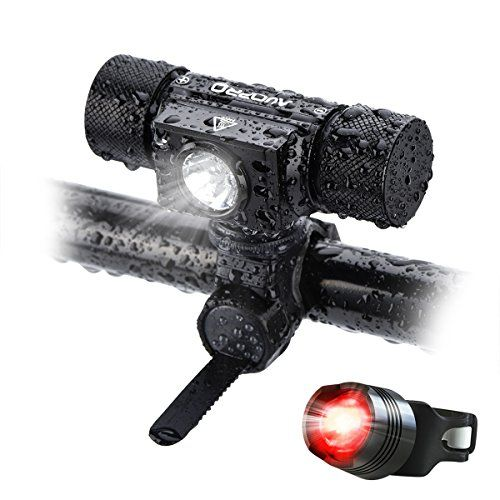From 19.99 Auopro Usb Rechargeable Headlamp Bike Light Super Bright 500lm Compact Waterproof Cycling Bicycle Led Headlights With Safty Taillights