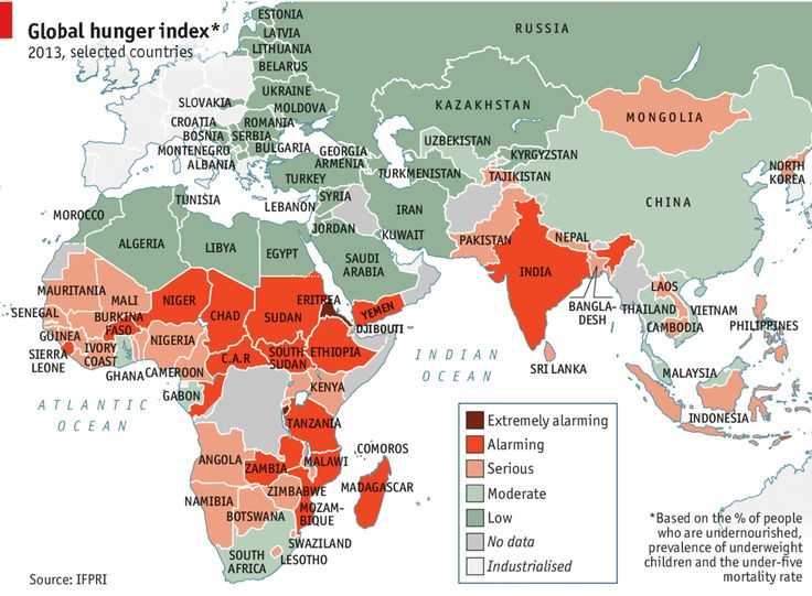 Daily chart: Empty stomachs | The Economist