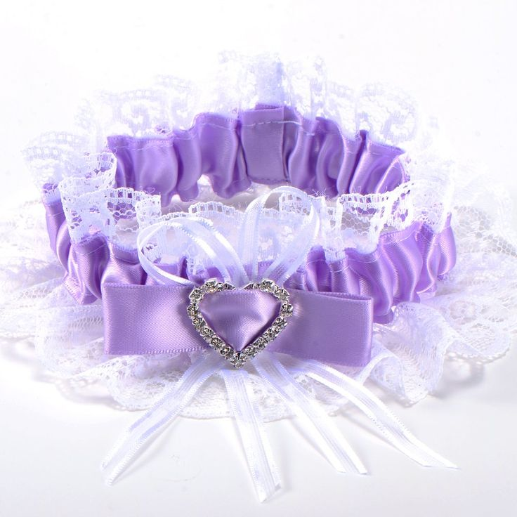 Cheap tape elastic, Buy Quality tape tape directly from China tape purple Suppliers: Garter for bride in blue purple lace, she is very d a satin ribbon forming a heart overlays the rhinestones on the envir