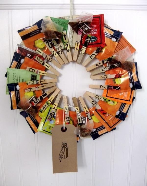Adorable tea bag advent calendar!!