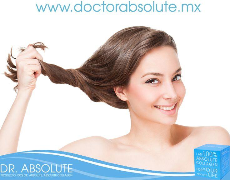 Tomar colágeno ayuda a la prevención de la caída de cabello. #colageno