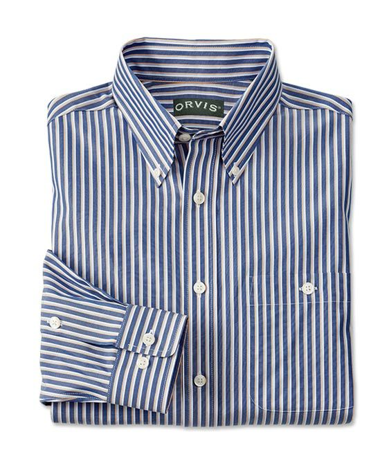 Wrinkle-Free Pinpoint Oxford Shirt / Pure Cotton Wrinkle-Free Pinpoint Oxford Shirt -- Orvis