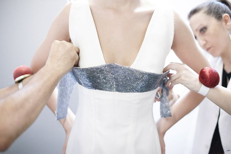 #ss2016 #hautecouture #pfw #fashion #fitting #backstage #peterlangner @maiasmarky @leliteboutique @kleinfeld @brownsfashion