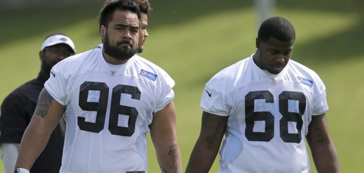from Carolina Panthers Rookies Star Lotulelei and Kawann Short help create a scary defensive line for the ‪#‎Panthers‬:
