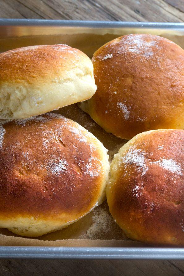 O glúten Rolls havaianas gratuitas a partir da página 181 do GFOAS Bakes Bread (com receita!)