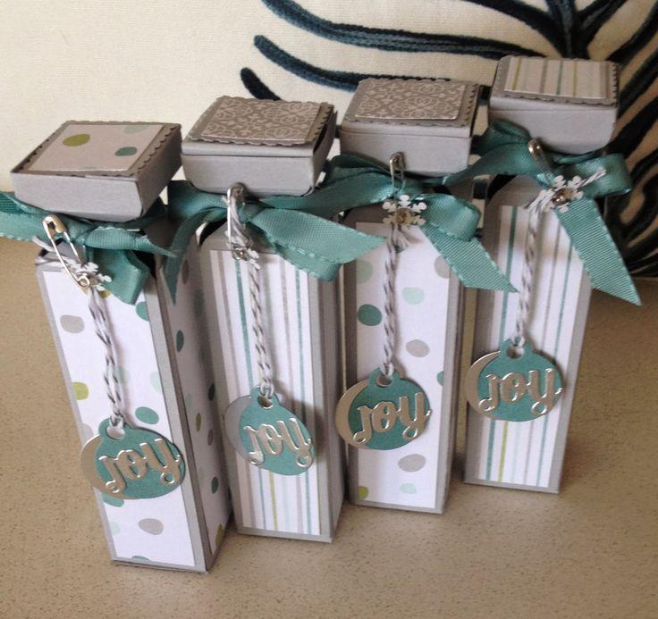 KeepStamping: Envelope Punch Board Hand cream box