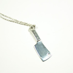 I'm not sure why, but I'm kind of intrigued by this necklace.  It's dainty and girly...and yet, it's a cleaver. I need it!: Knife, Chef 3