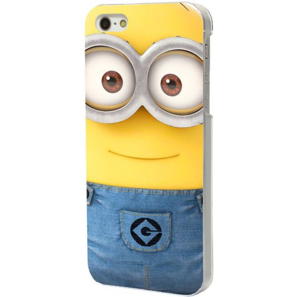 Minions Phone Case for Galaxy S3/S4/S5/S6 and iPhone 4/4S/5/5S/5C/6/6+... ($8) ❤ liked on Polyvore