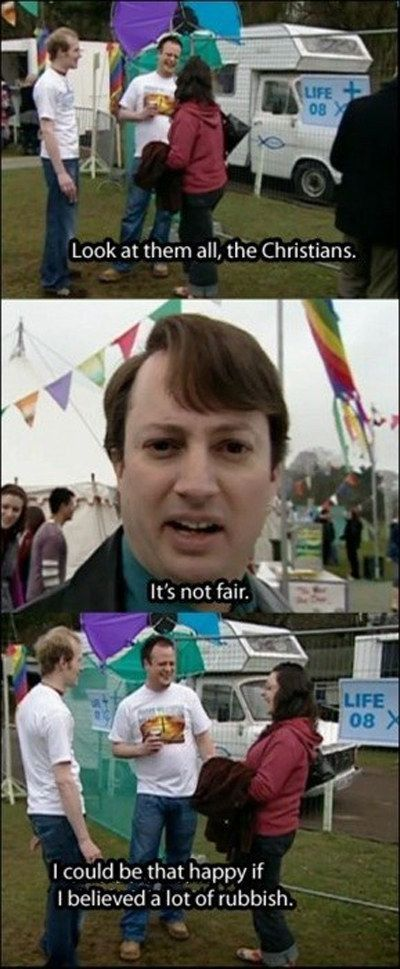 The Christians ('Peep Show'; Mark Corrigan)