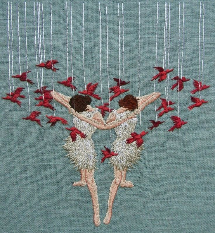Miniature Embroideries Reveal The Inner Imagination Of Artist Michelle Kingdom