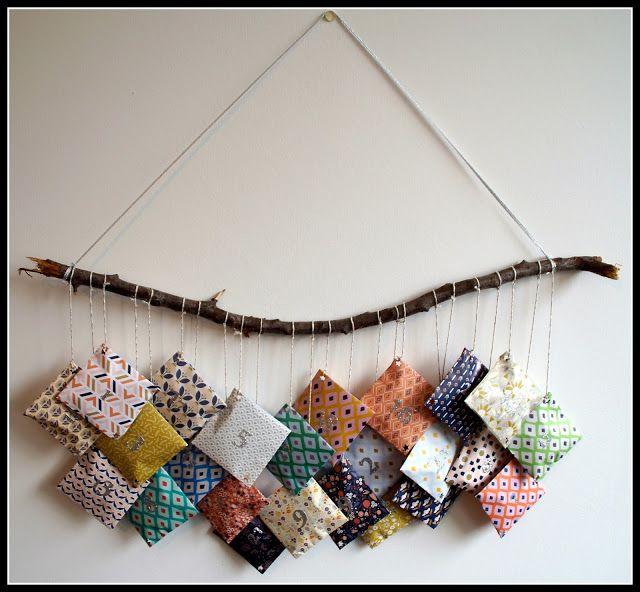 Mon joli petit bureau: DIY : un calendrier de l'Avent en pochettes de papier