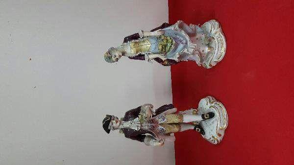 Coppia porcellana capodimonte