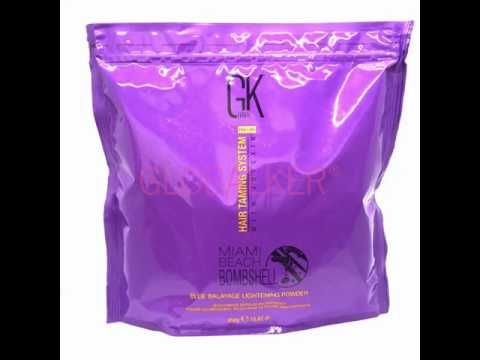 GK Hair Miami Beach Bombshell Clay 450g. Blonde Hair Global Keratin  Juvexin sklep warszawa.  gloalker - YouTube