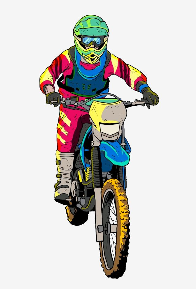 Motorcycle Racer Hand Drawn Racer Motocross Rider Knight Cartoon Knight Cartoon Motorcycle Rider Handsome Rider Png And Vector With Transparent Background Fo In 2021 Motocross Riders Motocross Bike Drawing