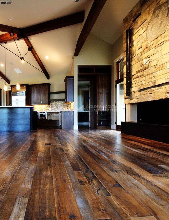 Reclaimed flooring gallery wide plank floor photos for Tobacco pine flooring