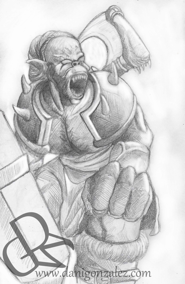 ORCO, SMALL SKETCH