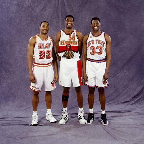 Patrick Ewing, Dikembe Mutumbo , Alonzo Mourning, Georgetown Hoyas