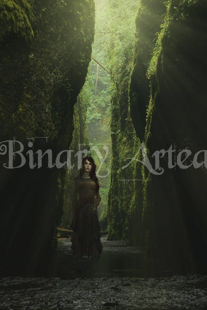 "Art, ""Follow"", Digital Download, Composite Art, Print, Second Life, Landscape Photography, Fantasy Art by BinaryArtea on Etsy"