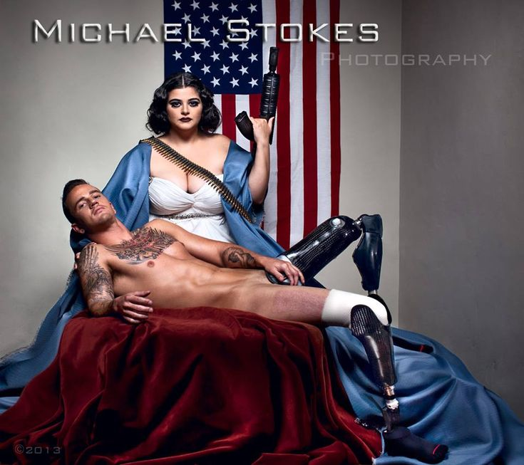 Brad Ivanchan - former Marine and one of the subjects of Michael Stokes' series of photos of wounded veterans.