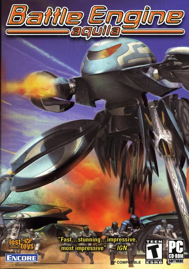 I always wanted a sequel to Battle Engine Aquila..